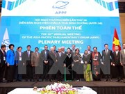 APPF-26 adopta nueva visión para asociación parlamentaria en Asia-Pacífico