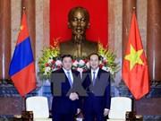 Presidente vietnamita recibe a titular del Parlamento de Mongolia