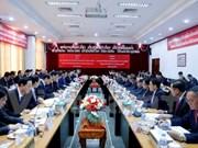 Ciudad Ho Chi Minh y Vientiane fortalecen cooperación