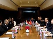 Premier vietnamita recibe a directivos de grandes empresas en India