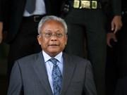 Procesado exvicepremier tailandés por traición