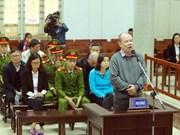 Trinh Xuan Thanh y cómplices niegan acusaciones ante tribunal