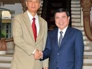 Ciudad Ho Chi Minh impulsa cooperación económica y comercial con localidades laosianas