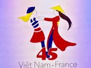 Presentan logotipo para aniversario de relaciones diplomáticas entre Vietnam y Francia