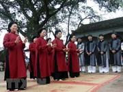 Canto Xoan de Vietnam recibirá reconocimiento oficial de UNESCO
