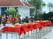 Recuperados restos de mártires vietnamitas en Camboya