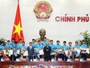 Premier de Vietnam destaca histórico triunfo de selección sub23 en Campeonato continental