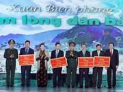 Presidenta del Parlamento: Vietnam presta especial atención a garantía de bienestar social