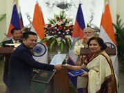 India y Camboya firman cuatro acuerdos de cooperación
