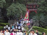 Amplias actividades en Festival del Templo de Reyes Hung 2016