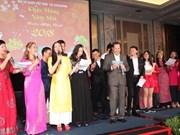 Vietnamitas en Singapur celebran el Año Nuevo Lunar