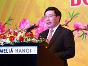 Efectúan encuentro entre autoridades de Hanoi y cuerpo diplomático en ocasión del Tet