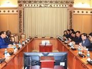 Ciudad Ho Chi Minh pide al Banco Mundial colaboración para el establecimiento de urbe creativa