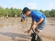 Jóvenes vietnamitas contribuyen al cumplimiento de ODS