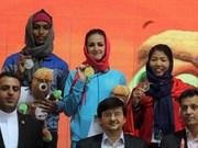 Atletas vietnamitas obtienen medallas de bronce en torneo asiático
