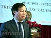 Celebran en el exterior aniversario 88 de fundación del Partido Comunista de Vietnam