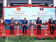 Premier vietnamita inaugura Centro de formación de recursos humanos científicos y tecnológicos de Laos