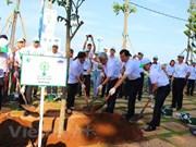Presidenta parlamentaria destaca la importancia de la plantación de árboles