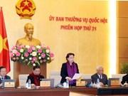 Clausuran XXI reunión del Comité Permanente del Parlamento de Vietnam