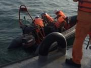Aceleran búsqueda de dos pescadores vietnamitas desaparecidos en naufragio