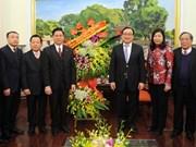 Iglesia Protestante del Norte de Vietnam se reúnen con autoridades de Hanoi en ocasión del Tet