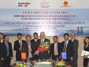 Australia ayuda a Vietnam en el desarrollo de transporte
