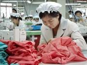 Empresa de confecciones textiles vietnamitas prevé gran incremento para 2020