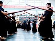 Arte marcial japonés atrae atención de jóvenes vietnamitas