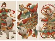Joven artista vietnamita con deseo de revivir pinturas populares