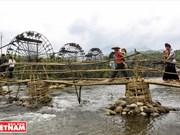 Ruedas hidráulicas en Na Khuong