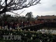 Ciudad Imperial de Hue reporta alta llegada de turistas durante el Año Nuevo Lunar