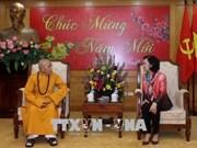 Budistas en Thua Thien-Hue por contribuir a la construcción nacional