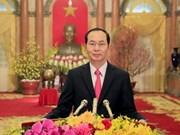 Presidente de Vietnam visitará la India y Bangladesh