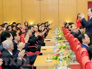 Presidente vietnamita insta a desarrollar modernas técnicas de salud