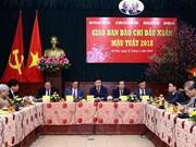 Vicepremier vietnamita destaca aportes de la prensa al desarrollo nacional