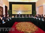 Órganos de asuntos exteriores de Vietnam forjan lazos