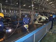 Índice de Producción Industrial de Vietnam se redujo en febrero