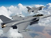 Estados Unidos transfiere aviones F16 Fighting Falcon a Indonesia