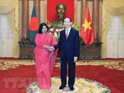 Presidente de Vietnam visitará Bangladesh