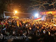 Miles de personas participan en Festival de Sello Real en Templo Tran