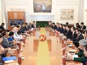 Presidente vietnamita se reúne con premier indio