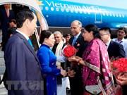 Presidente de Vietnam llega a la India para iniciar visita estatal