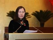 Efectúa Comisión de Asuntos Jurídicos del Parlamento vietnamita su octava reunión