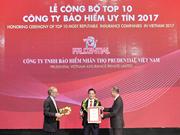 Vietnam llama a acciones más activas de grupo Prudential