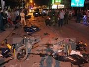 Accidentes de tráfico se reducen en carretera nacional 1A en año nuevo lunar