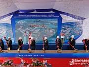 Inician construcción de zona industrial de mil millones de dólares en provincia centrovietnamita