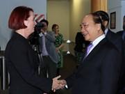 Premier de Vietnam llega a Auckland para iniciar visita oficial a Nueva Zelanda
