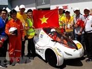 Universitarios vietnamitas ganaron concurso asiático de vehículos eléctricos