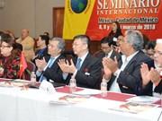 Vietnam participa en seminario de partidos de izquierda en México