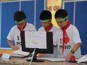 Vietnam a favor de promover la investigación científica- tecnológica entre escolares